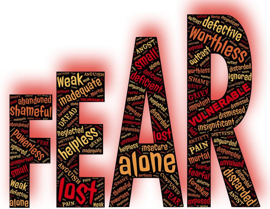 what is holding us back- fear