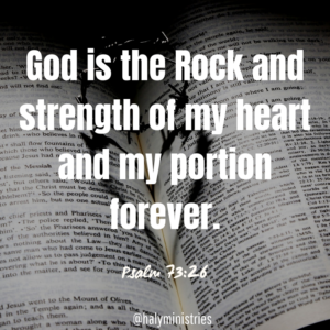 God is Strength of Your Heart - Bible, Thorns, Heart