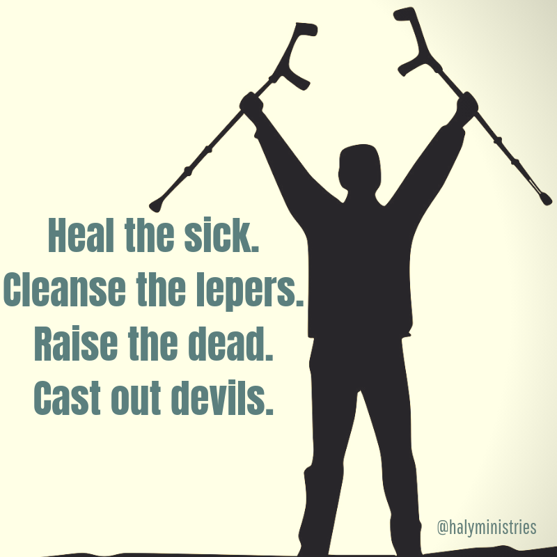 Heal the Sick - Man's Legs are Healed