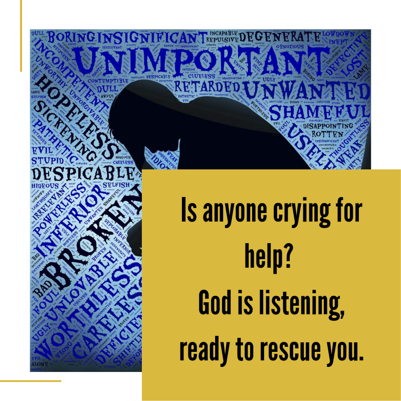 Come out of the Wilderness of Depression God will Rescue You