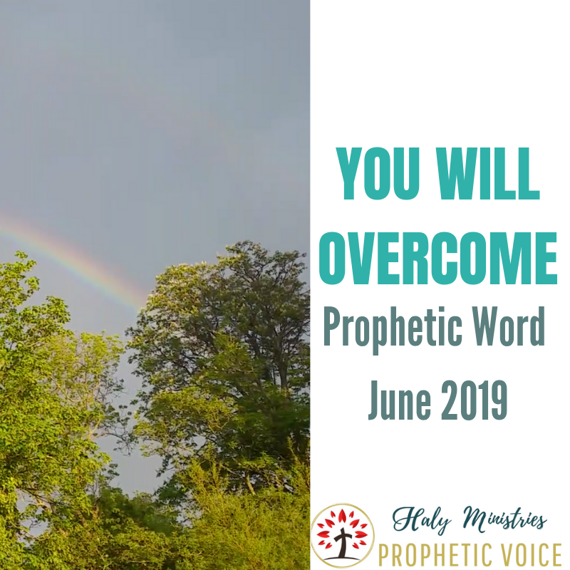 Prophetic Word for June 2019 - You WILL Overcome | Haly
