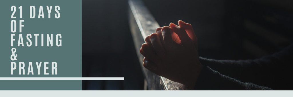 21 Days of Fasting and Prayer - Haly Ministries