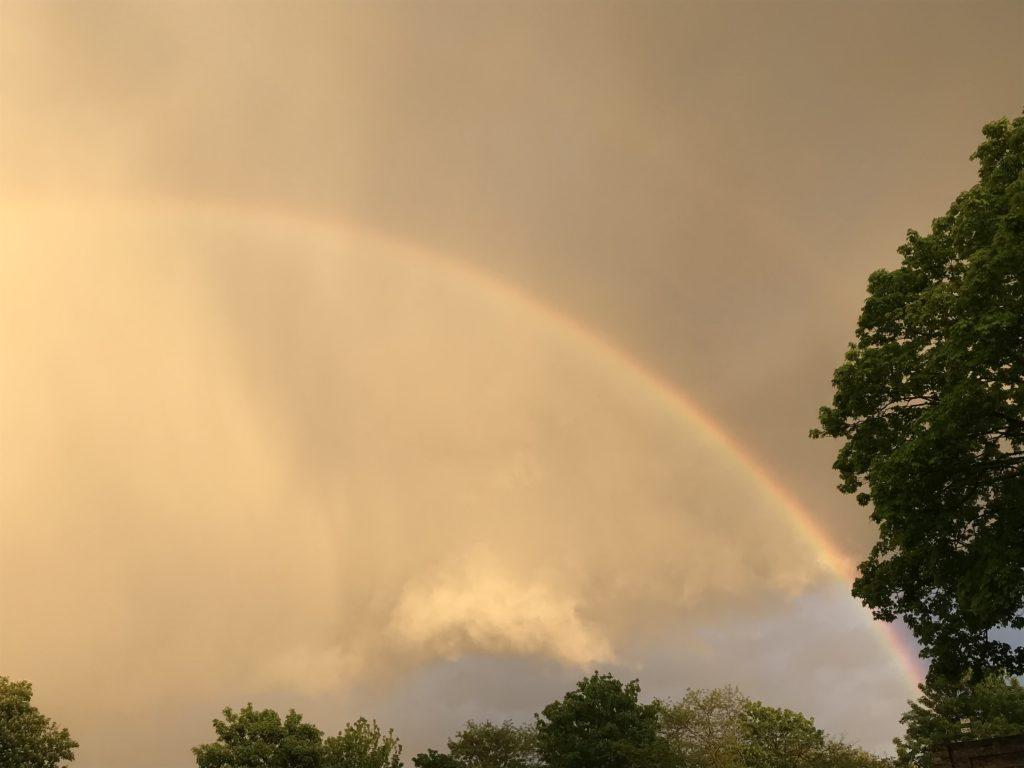 Gods Promise Rainbow