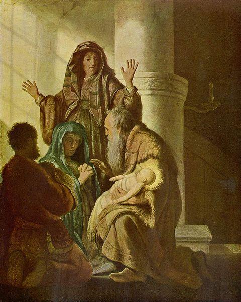Anna Prophetess Luke 2