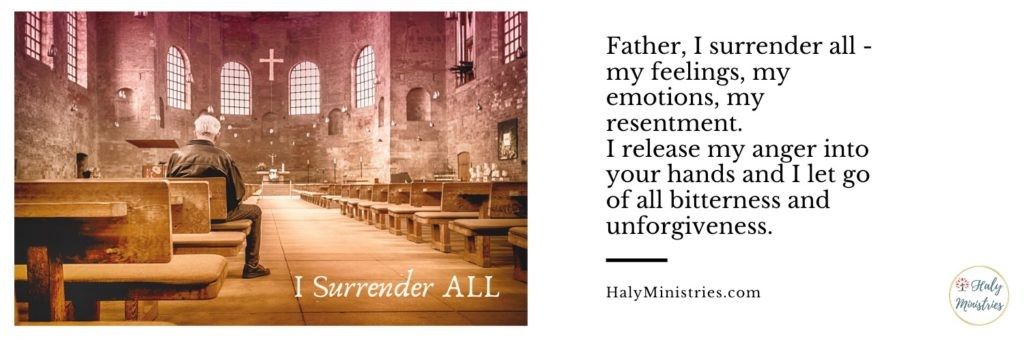 Be Angry and Do Not Sin - I surrender All - header