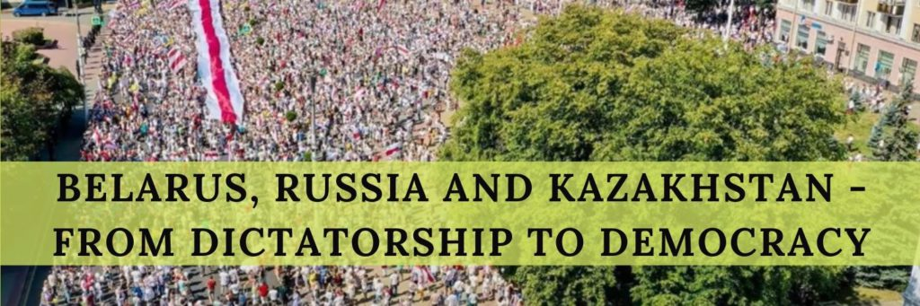 Belarus Russia and Kazakhstan From Dictatorship to Democracy - Haly Ministries
