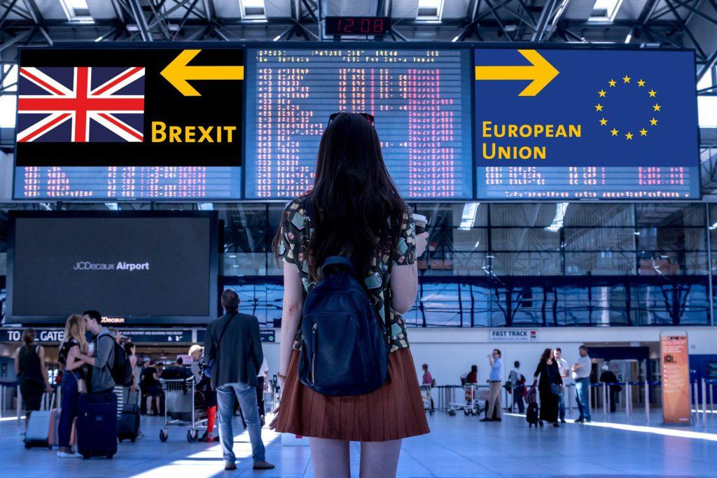 Brexit vs European Union - Two Arrows