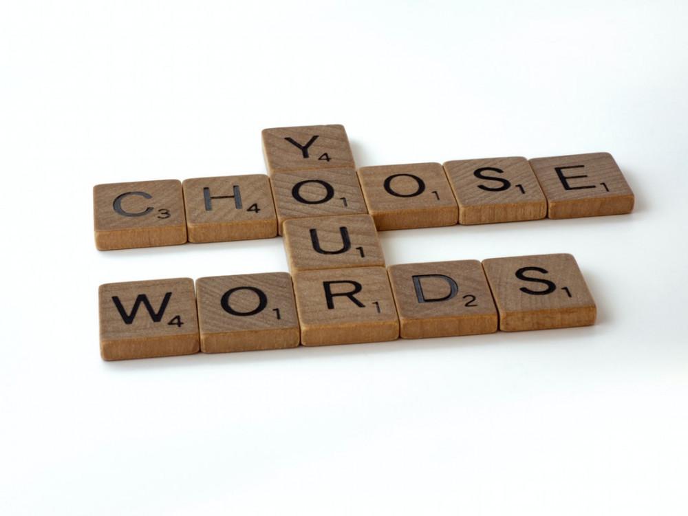 Choose Your Words - Wooden Scrabble