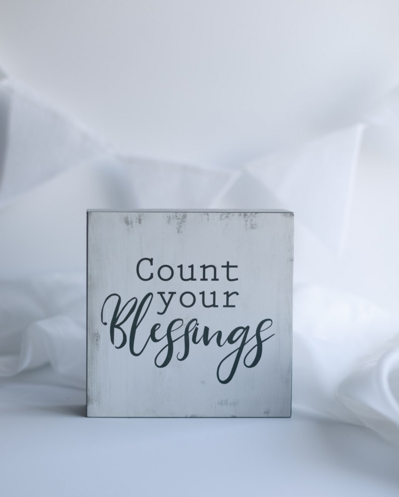 Count Your Blessings - Written