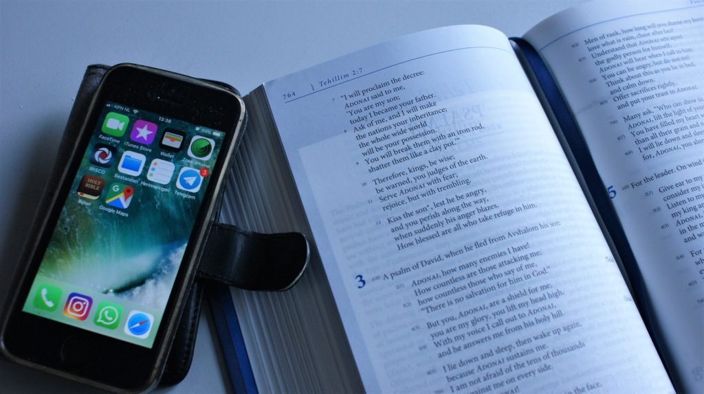 Distractions - Mobile New the Bible