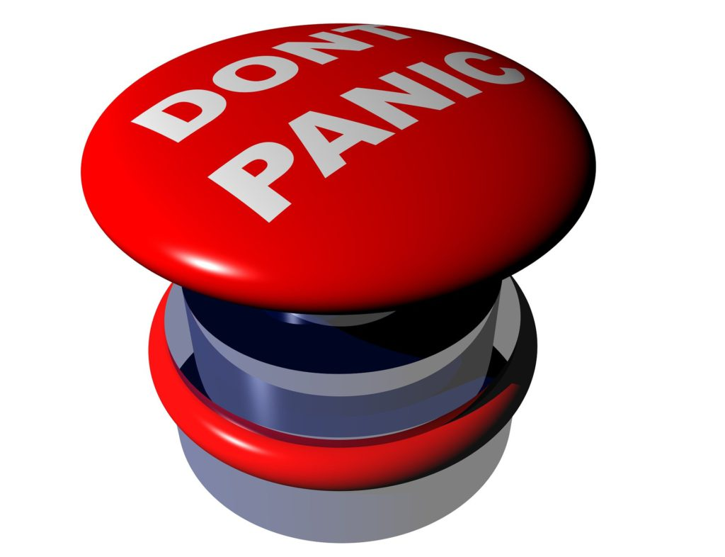 Dont Panic Red Button