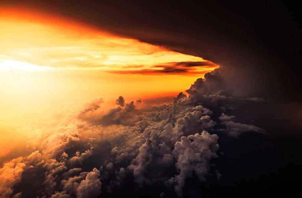 Dramatic Cloudscape - Dark and Light