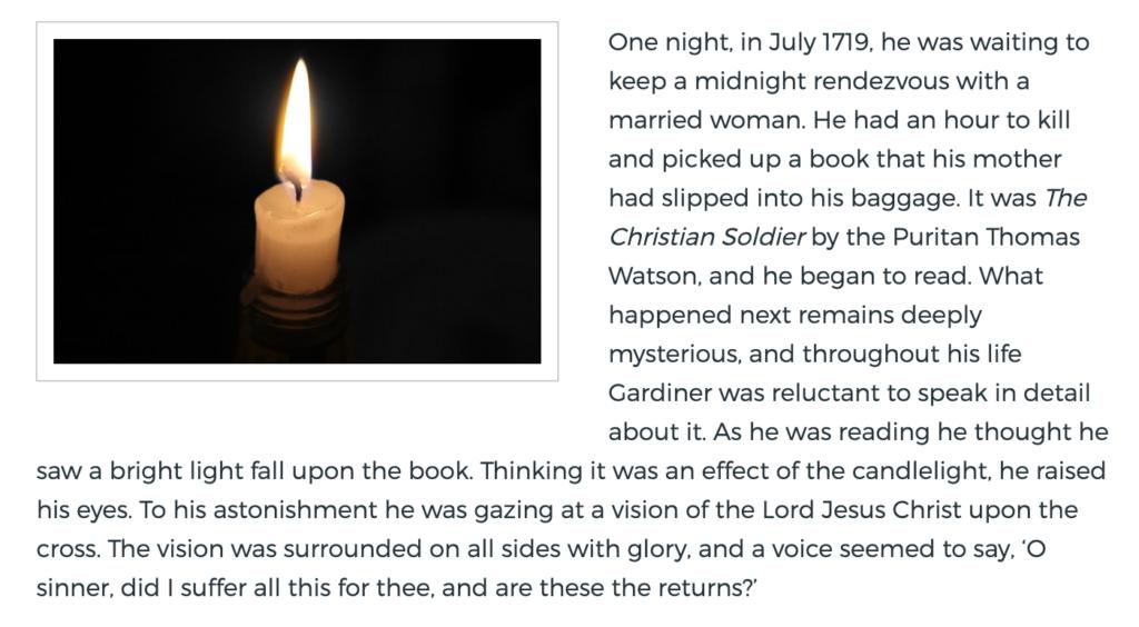 Evangelicals Times - Colonel James Gardiner Story