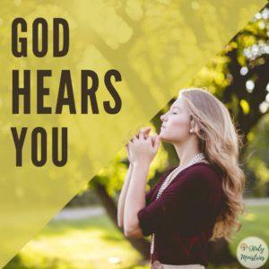 God Hears You - Haly Ministries
