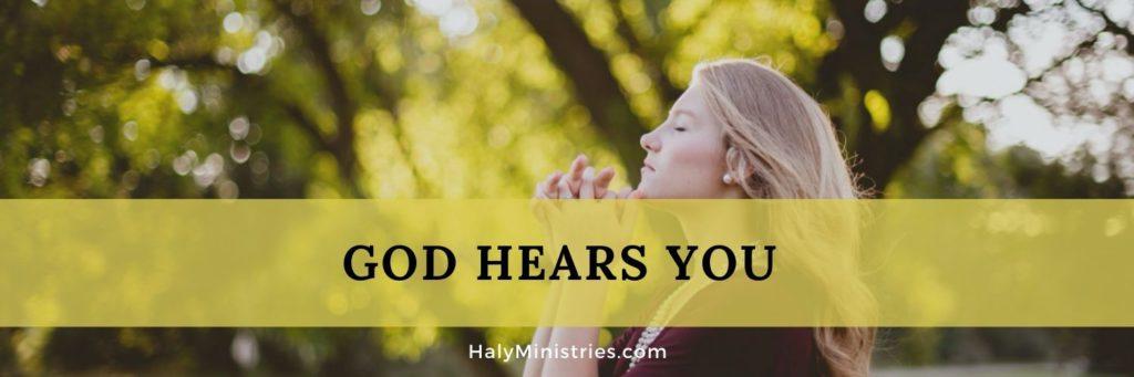 God Hears You - header
