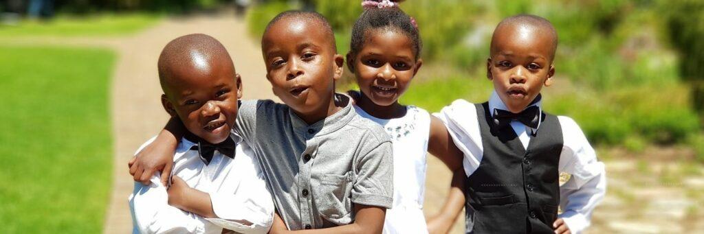 Group of Children Joyful