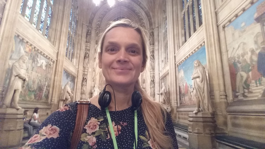 Haly In the House of Parliament