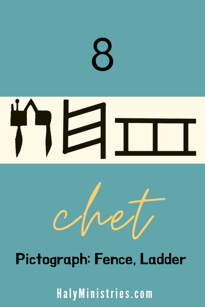Hebrew Letter Chet