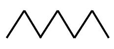 Hebrew Letter Mem - Pictograph