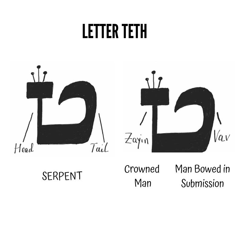 Hebrew Letter Teth