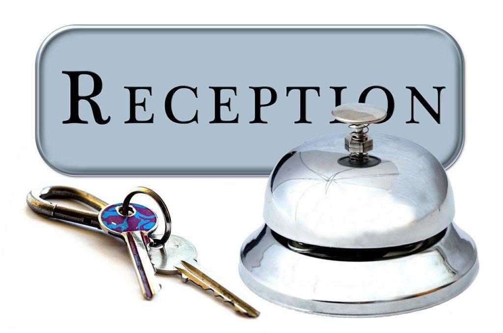 Hotel Reception - Keys and Bell