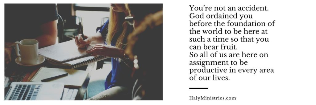 How to Live a Productive Life According to the Bible Haly Ministries