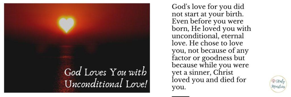 Jesus Will Always love You - Haly Ministries