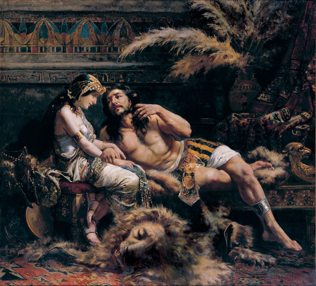 José Echenagusía - Samson and Delilah - Google Art Project