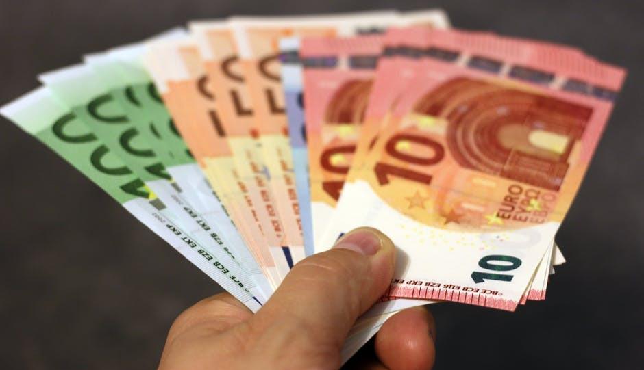 Money Cash Investment - Euros