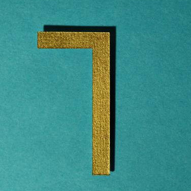 Number Seven - Golden Colour