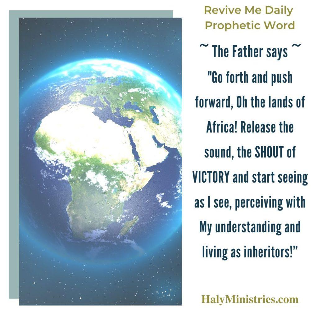 Prophetic Word - Shouts of Victory Across Africa