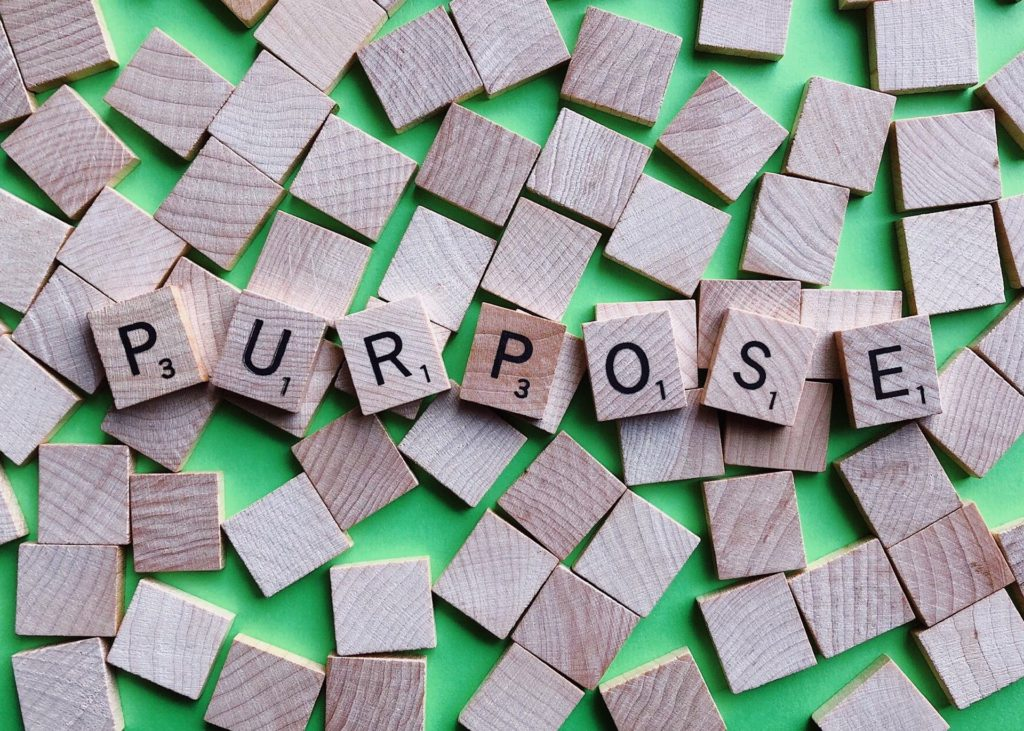 Purpose Intention Goal