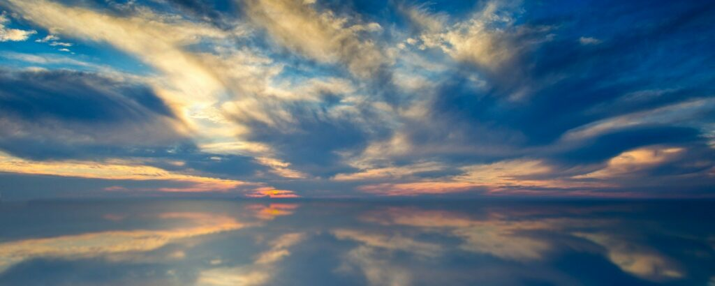 Reflection of Heaven in Water