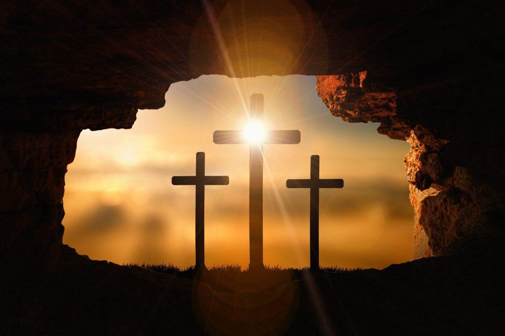 Resurrection - Three Crosses
