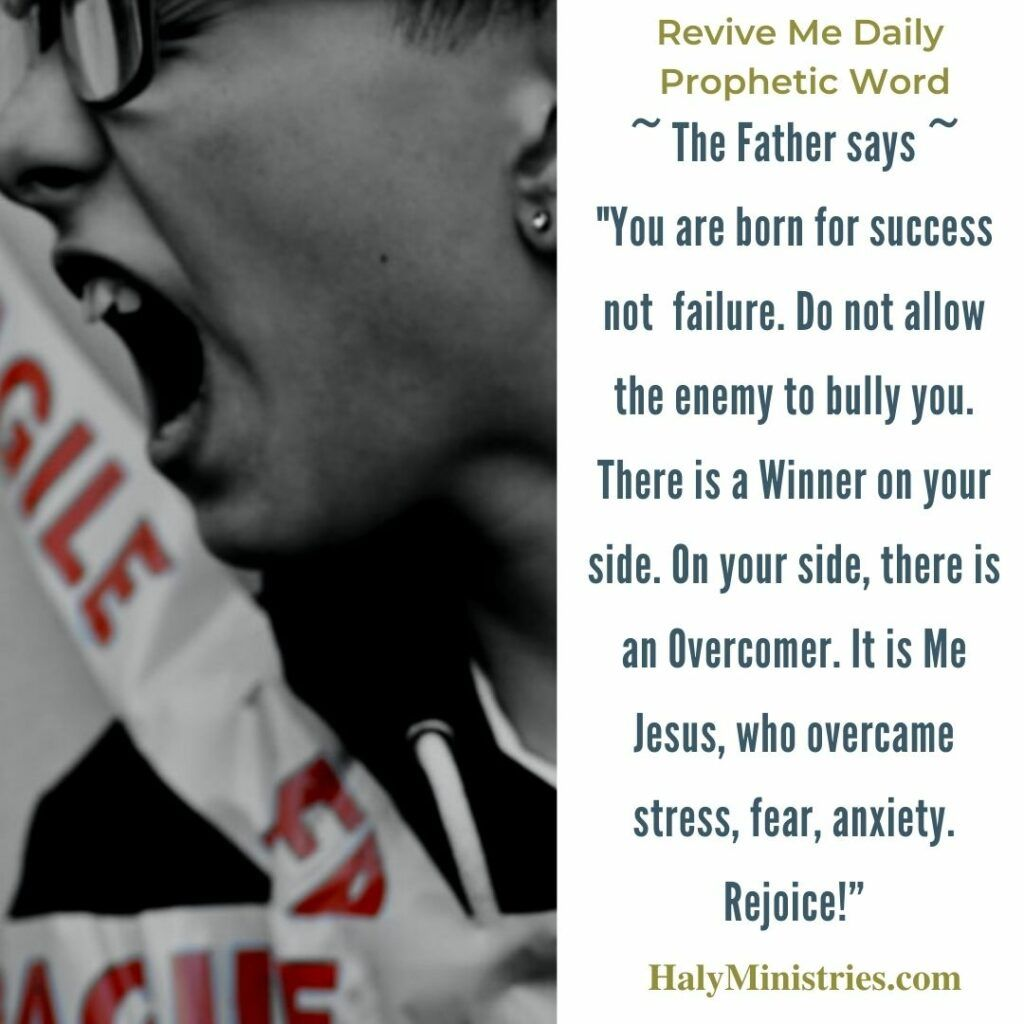Revive Me Daily Prophetic Word - Experience God's Goodness