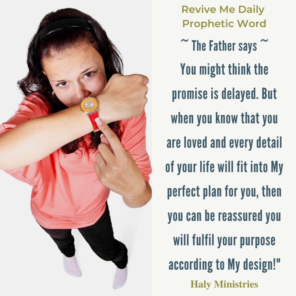Revive Me Daily Prophetic Word - Is God Delaying the Promises?