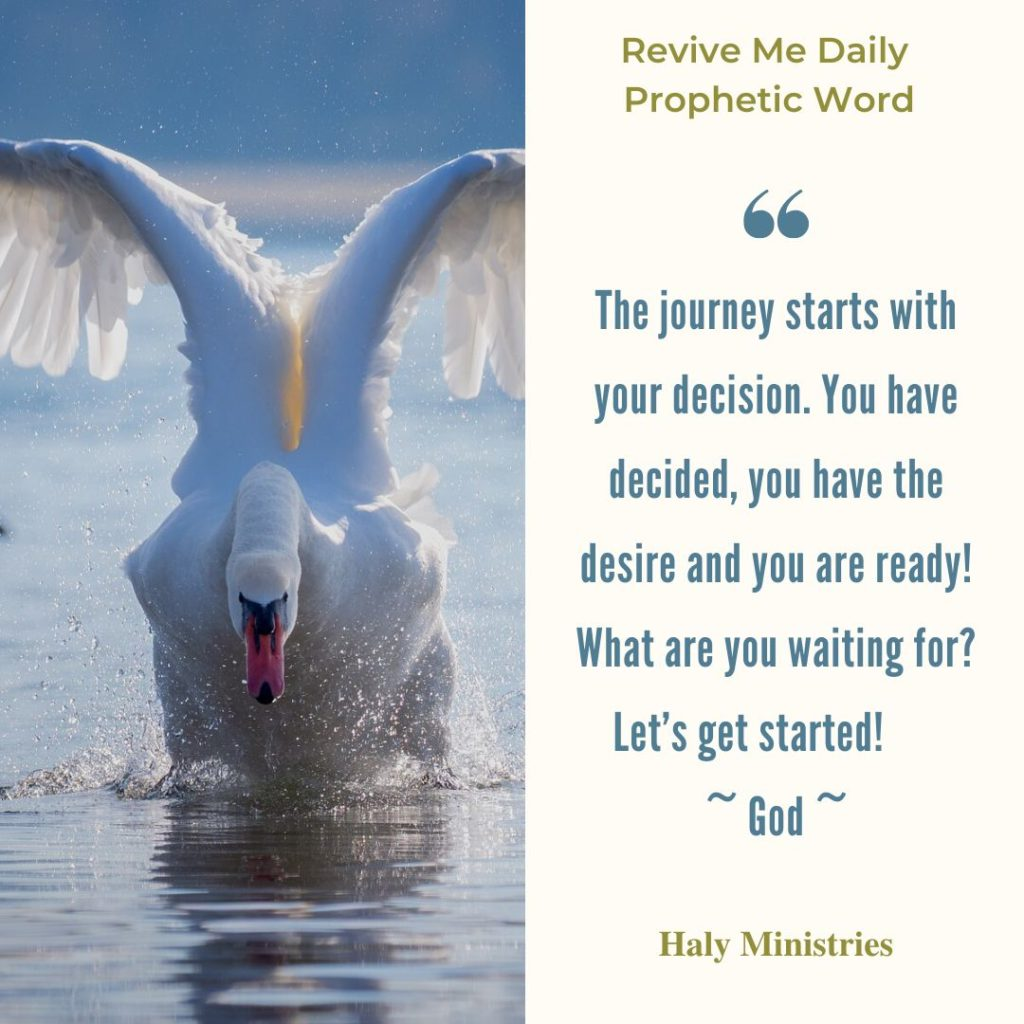 Revive Me Daily Prophetic Word - Lets Get Started