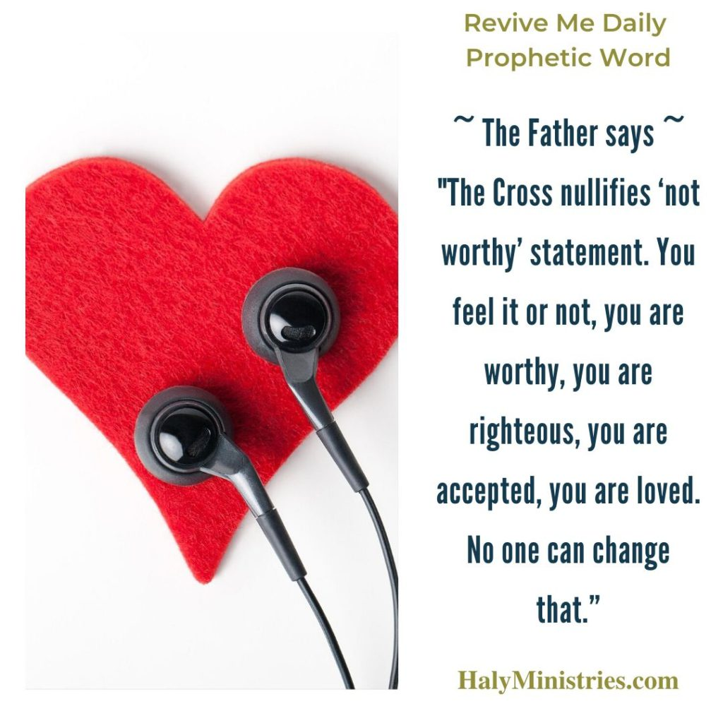 Revive Me Daily Prophetic Word - Listen to God and Not Man