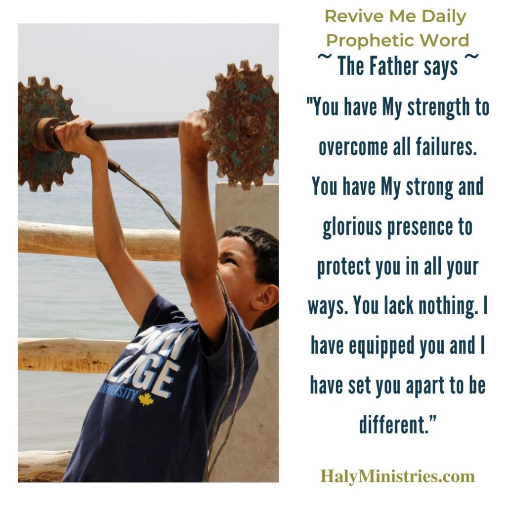 Revive Me Daily Prophetic Word - You are NOT a Failure
