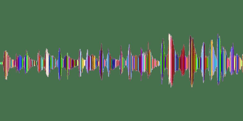 Sound Wave in Waveform