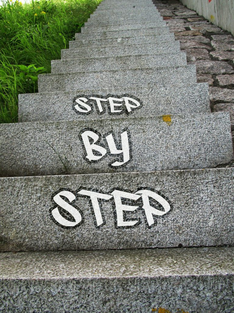 Step by Step - Steps are Going Up