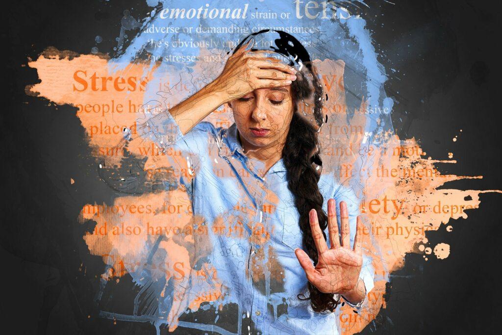 Stressed and Anxiuos Woman