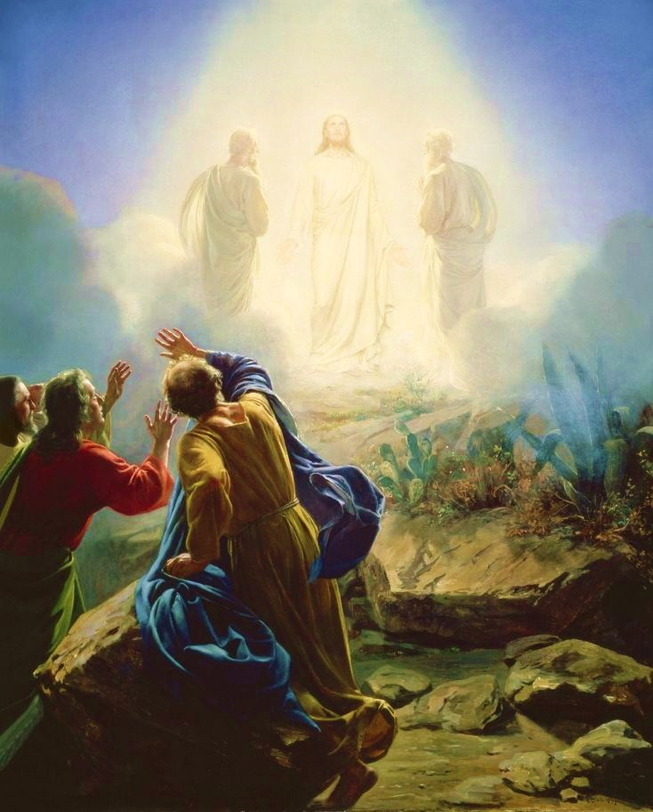The Transfiguration of Jesus by Carl Bloch