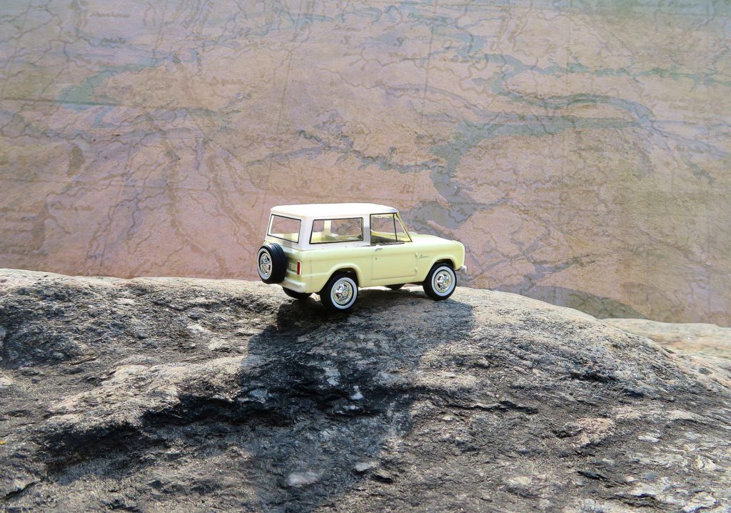 Yellow Car and Map